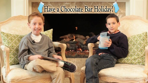 Chocolate Bar book -- the ultimate in giving spirit