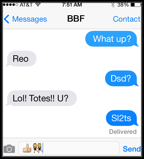 essential text acronyms parents should use