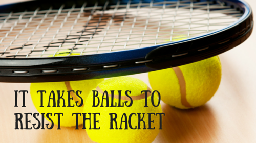 resist the racket