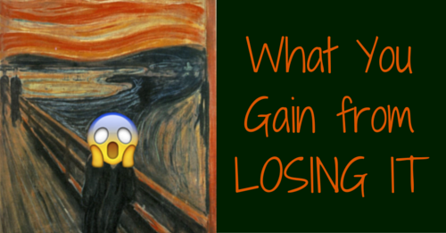 what you gain from losing it