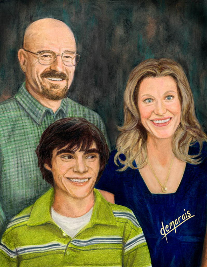 The Whites of Breaking Bad