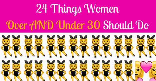 women over and under 30 listicle